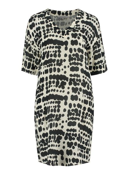 SYLVER Animal Dress - Black