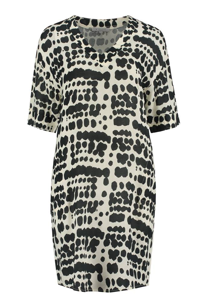 SYLVER Animal Dress - Black