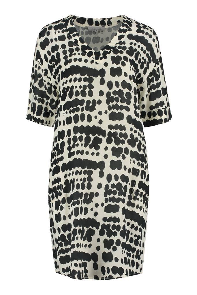 SYLVER Animal Dress - Zwart