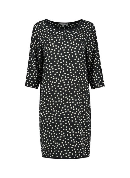 SYLVER Dots Dress - Black