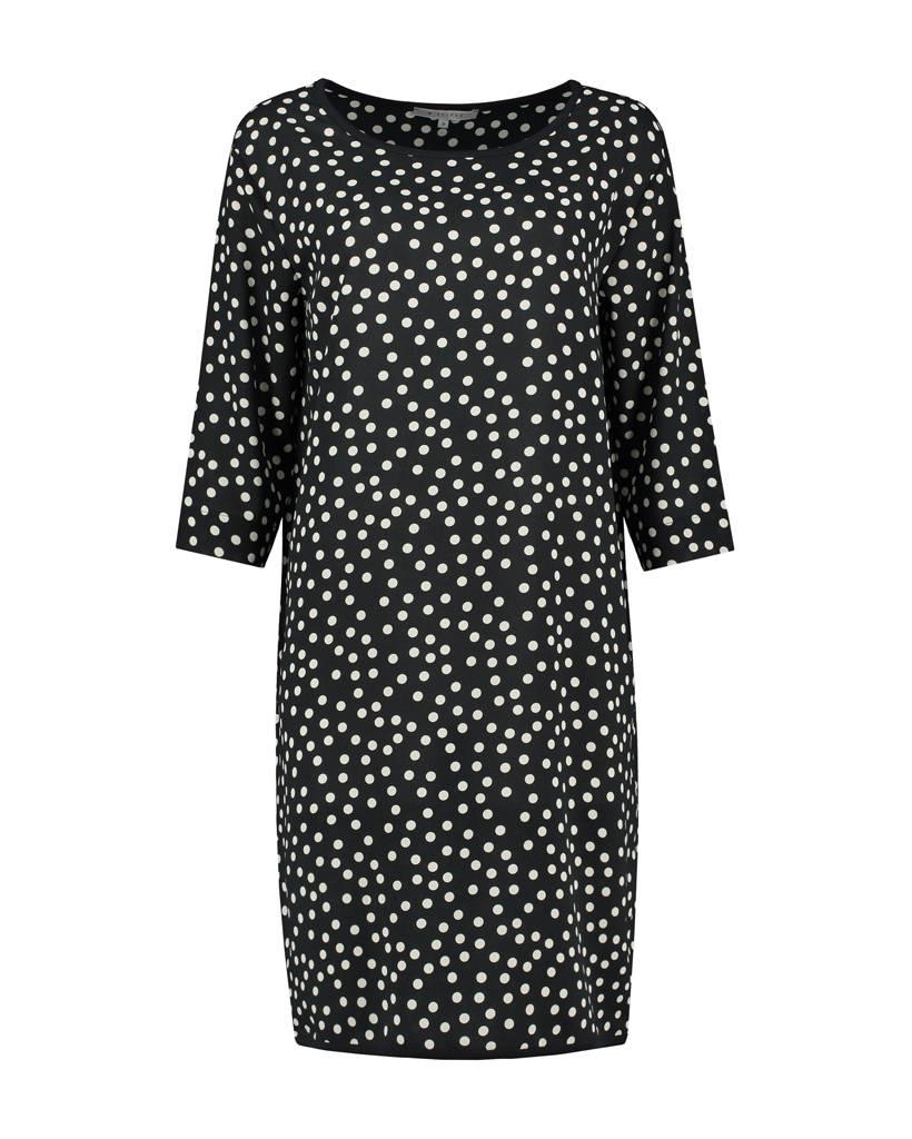 SYLVER Dots Dress - Zwart