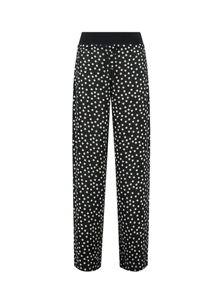SYLVER Dots Trousers - Black