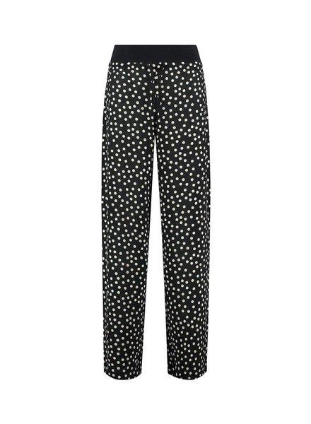 SYLVER Dots Trousers - Zwart