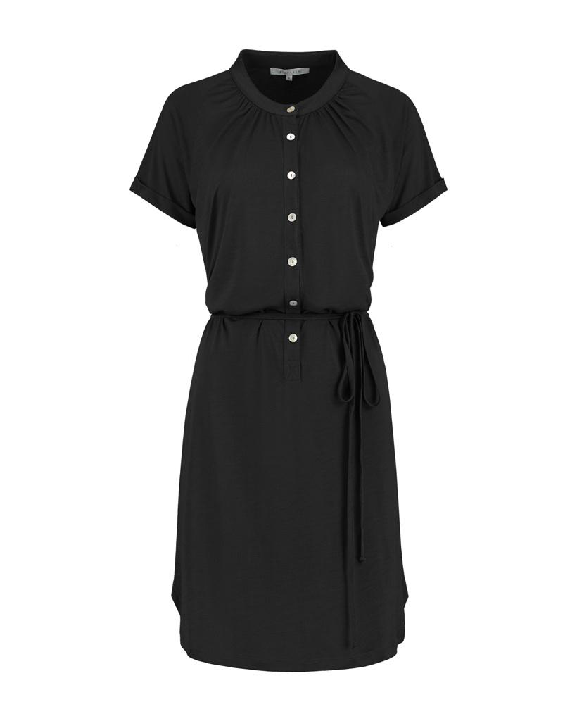 SYLVER Summer Lyocell Dress - Zwart