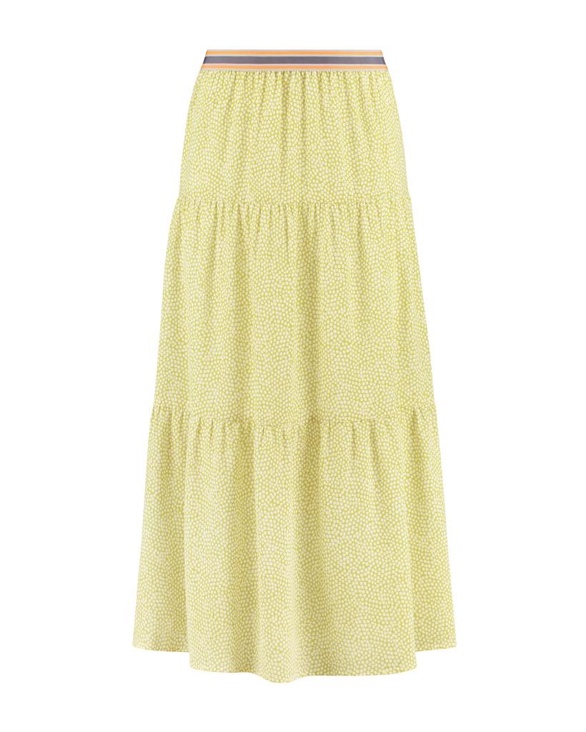 SYLVER Cells Skirt - Lime