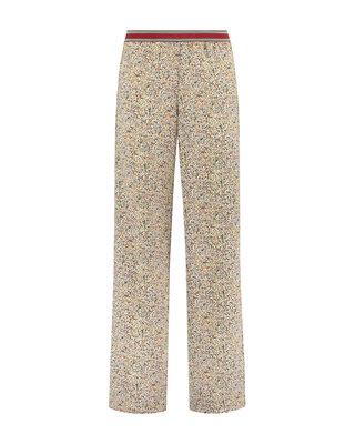 SYLVER Mille Fleurs Trousers - Zwart