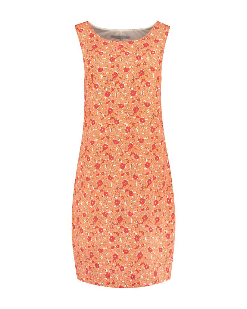 SYLVER Flowers Dress - Oranje