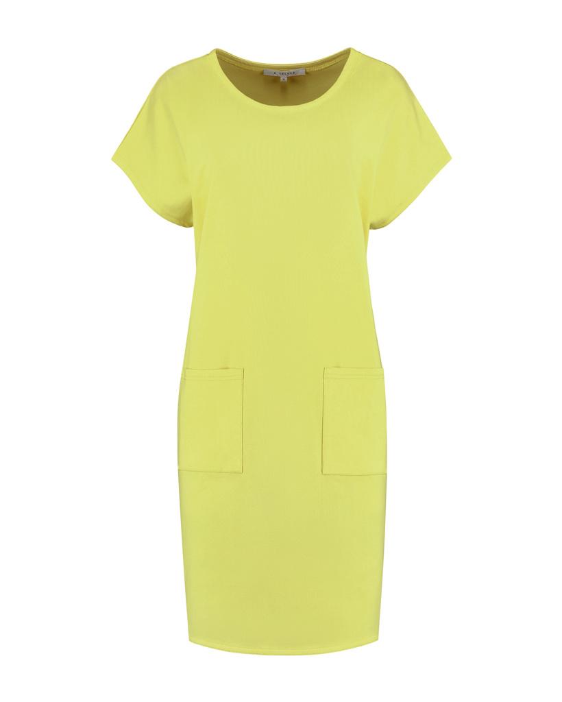 SYLVER Mercerised Cotton Dress - Limoengeel
