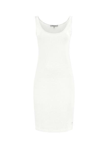 SYLVER Cotton Elasthan Underdress - Gebroken Wit