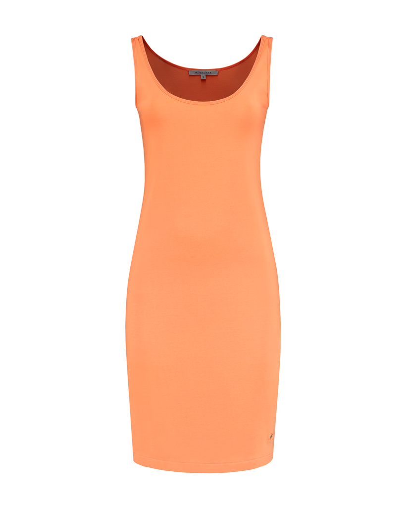 SYLVER Cotton Elasthan Underdress - Oranje