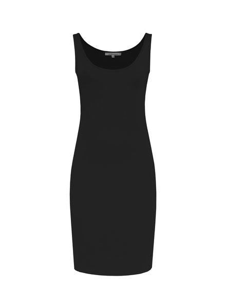 SYLVER Cotton Elasthan Underdress - Zwart