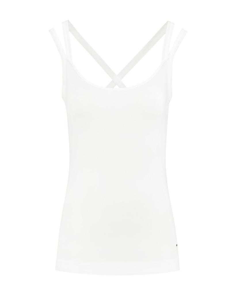 SYLVER Cotton Elasthan Shirt - Off white