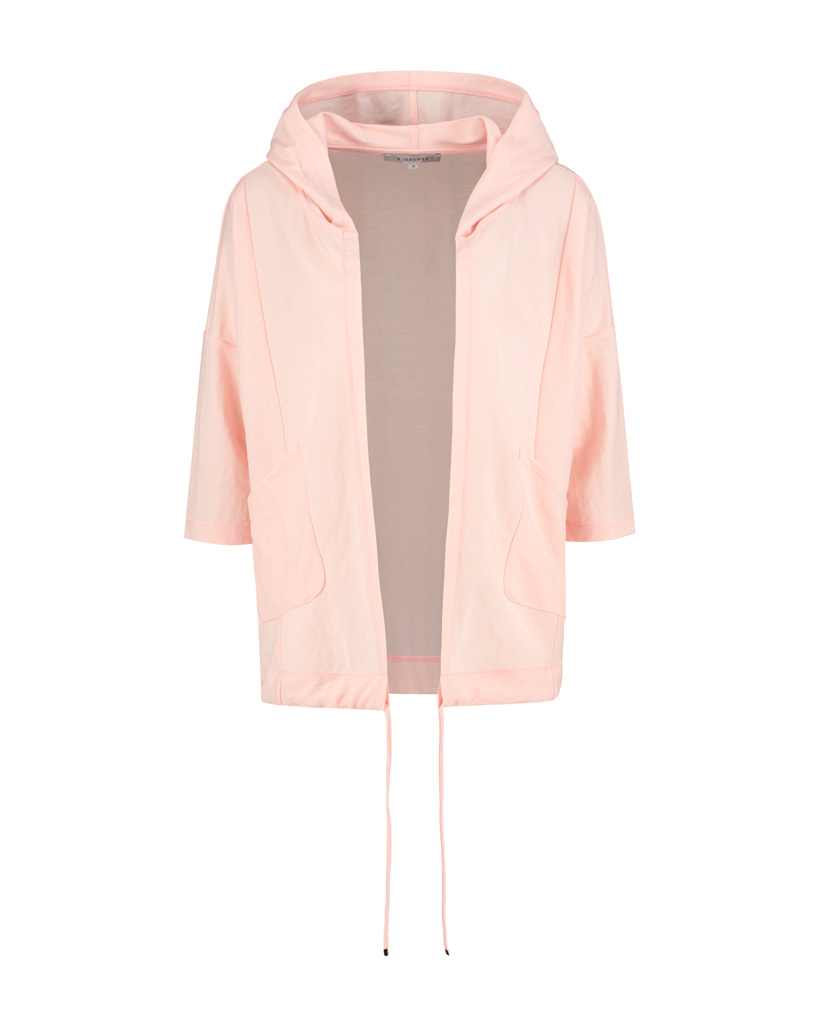 SYLVER Crêpe Stretch Jacket - Zalmroze