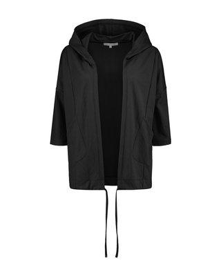 SYLVER Crêpe Stretch Jacket - Zwart