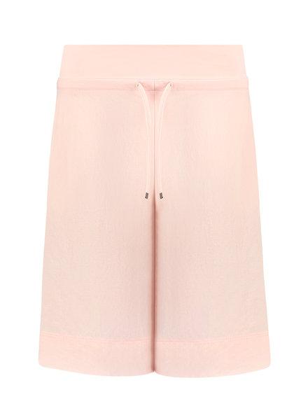 SYLVER Crêpe Stretch Skirt-Short - Salmon