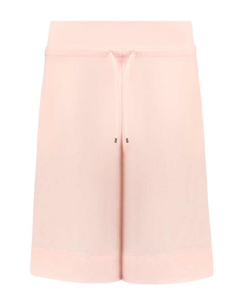 SYLVER Crêpe Stretch Skirt-Short - Zalmroze