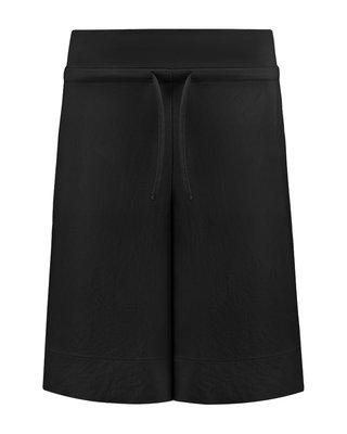 SYLVER Crêpe Stretch Skirt-Short - Black