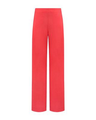 SYLVER Crêpe Stretch Trousers - Coral