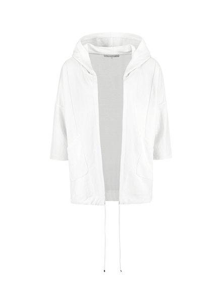 SYLVER Crêpe Stretch Jacket - Off white