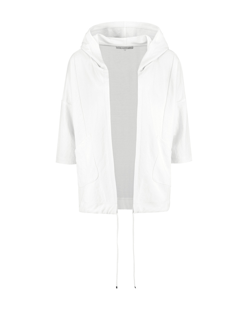SYLVER Crêpe Stretch Jacket - Gebroken Wit