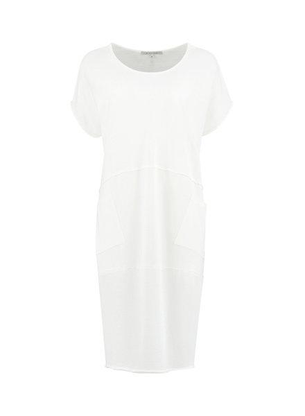 SYLVER Organic Dress - Gebroken Wit