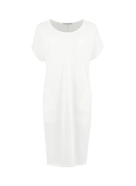 SYLVER Organic Dress - Off white