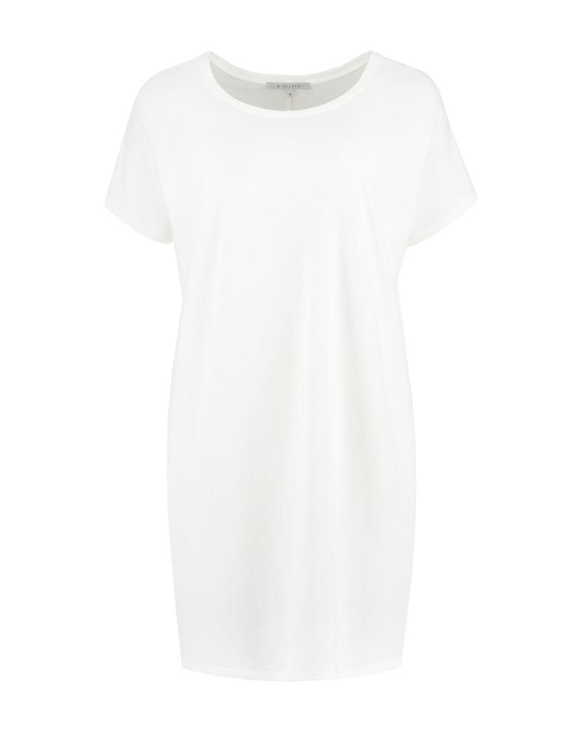 SYLVER Organic Shirt - Gebroken Wit