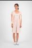 SYLVER Crêpe Stretch Skirt-Short - Zalmroze