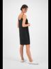 SYLVER Crêpe Stretch Underdress - Zwart