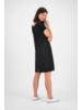 SYLVER Crêpe Stretch Dress-Blouse - Black
