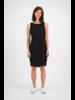 SYLVER Crêpe Stretch Dress Balloon - Black