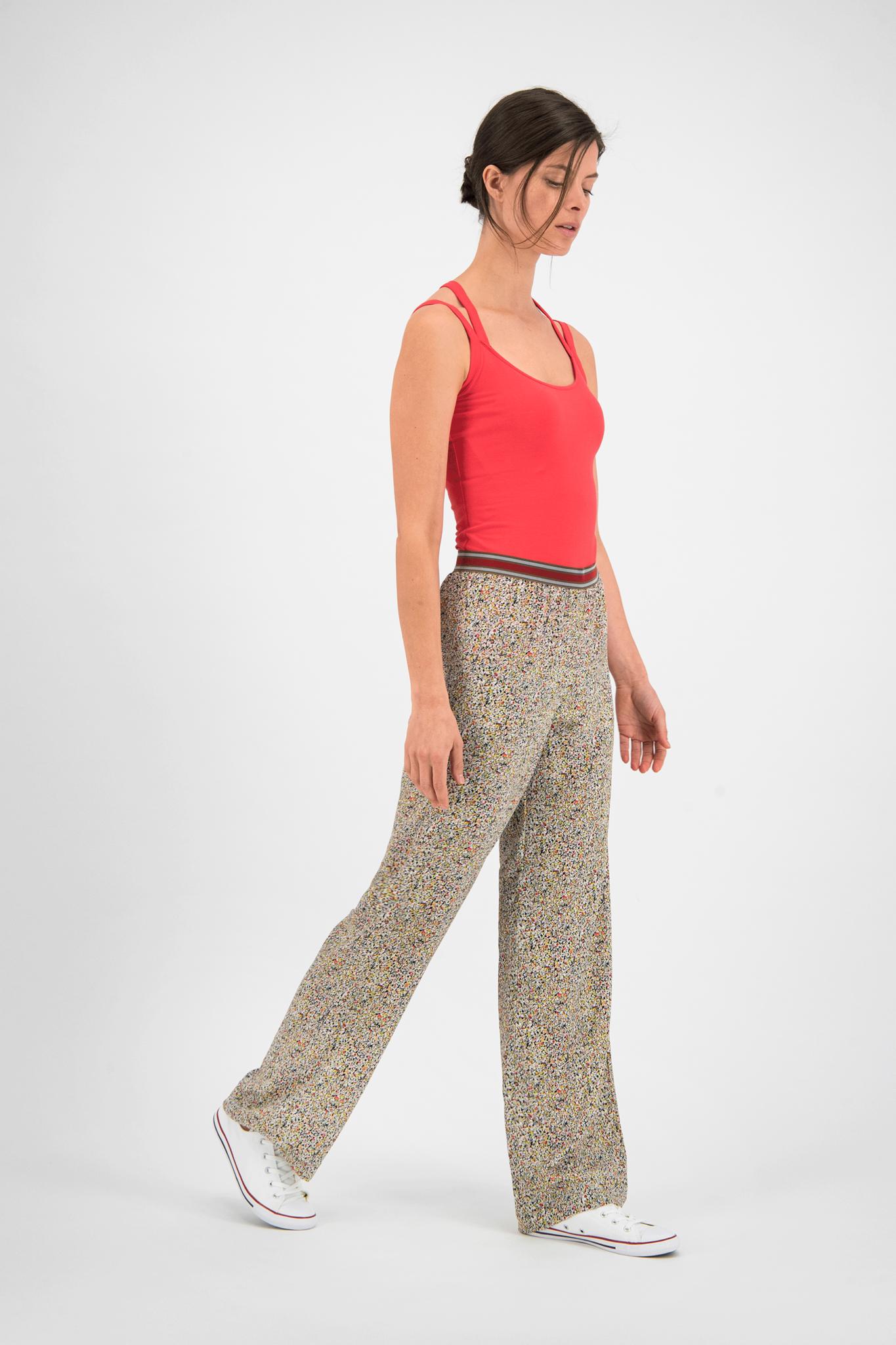 SYLVER Cotton Elasthan Shirt - Coral