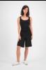 SYLVER Cotton Elasthan Shirt - Zwart