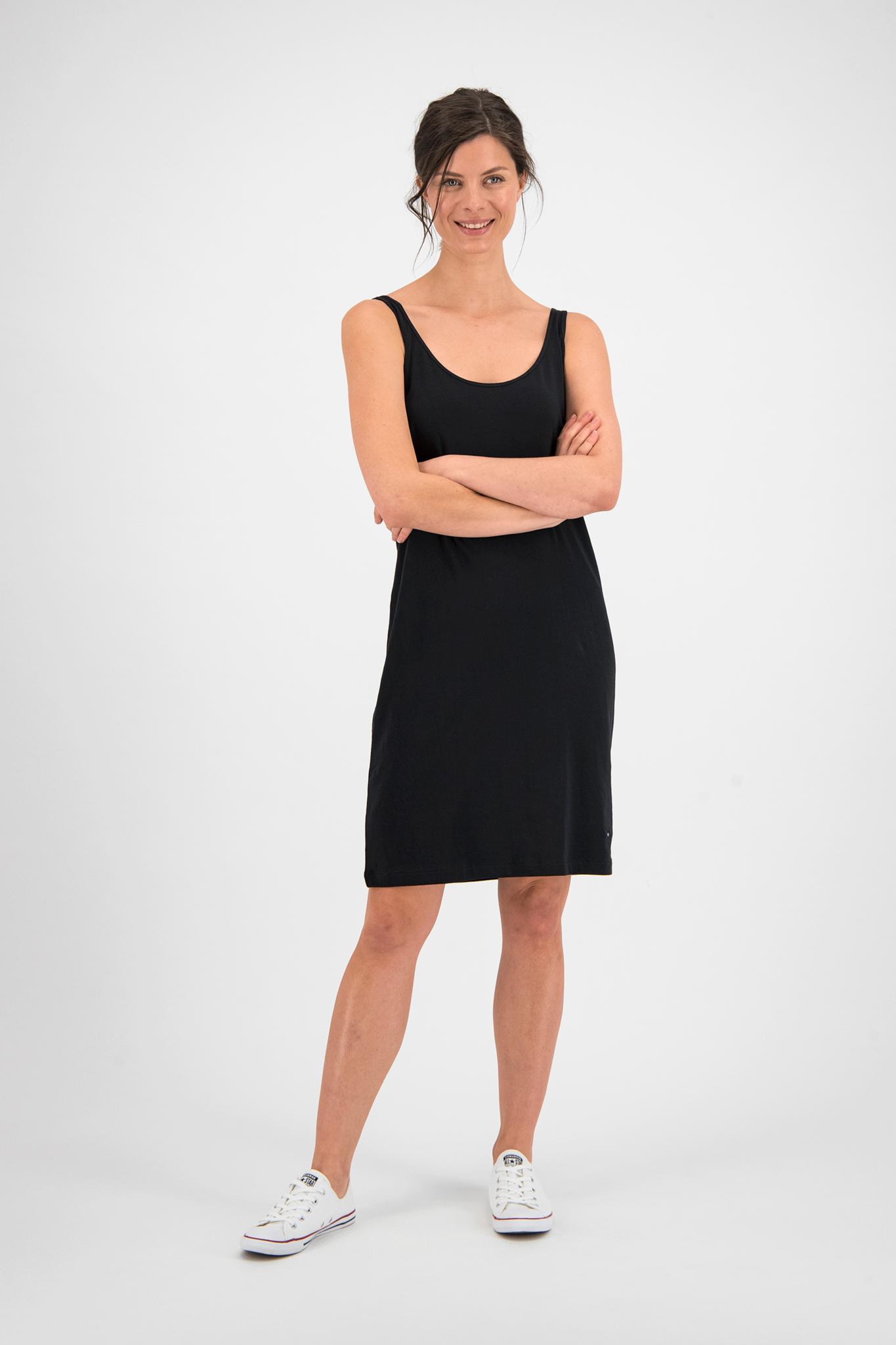 SYLVER Cotton Elasthan Underdress - Black