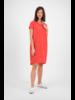 SYLVER Mercerised Cotton Dress - Coral