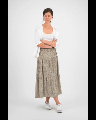 SYLVER Mille Fleurs Skirt - Black