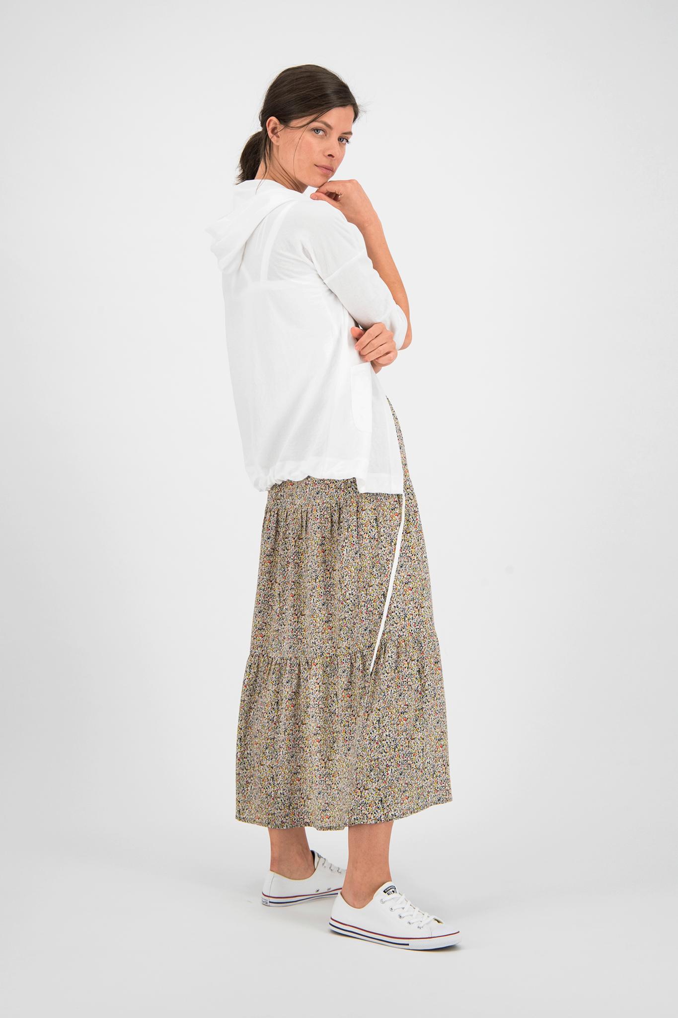SYLVER Mille Fleurs Skirt - Zwart