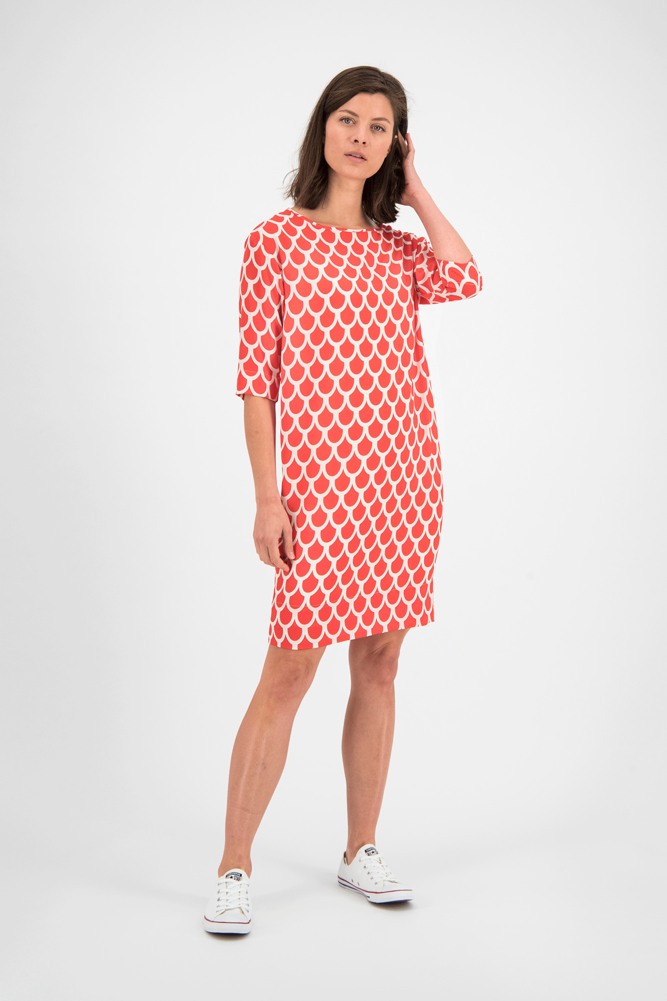 SYLVER Arches Dress - Coral