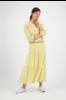 SYLVER Cells Skirt - Limoengeel