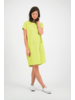 SYLVER Mercerised Cotton Dress - Lime