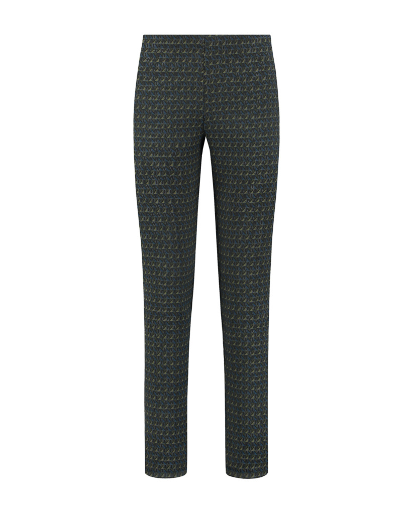 SYLVER Fancy Trousers Straight - Country