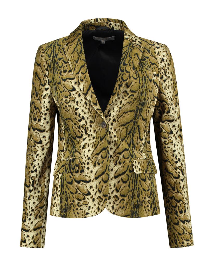 SYLVER Leopard Blazer - Country