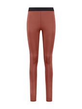 SYLVER Silky Jersey Legging - Rust