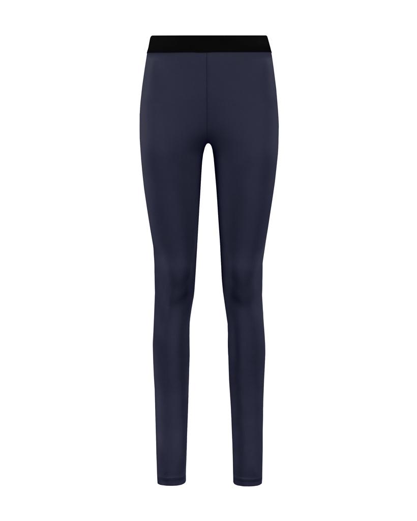 SYLVER Silky Jersey Legging - Dark Blue
