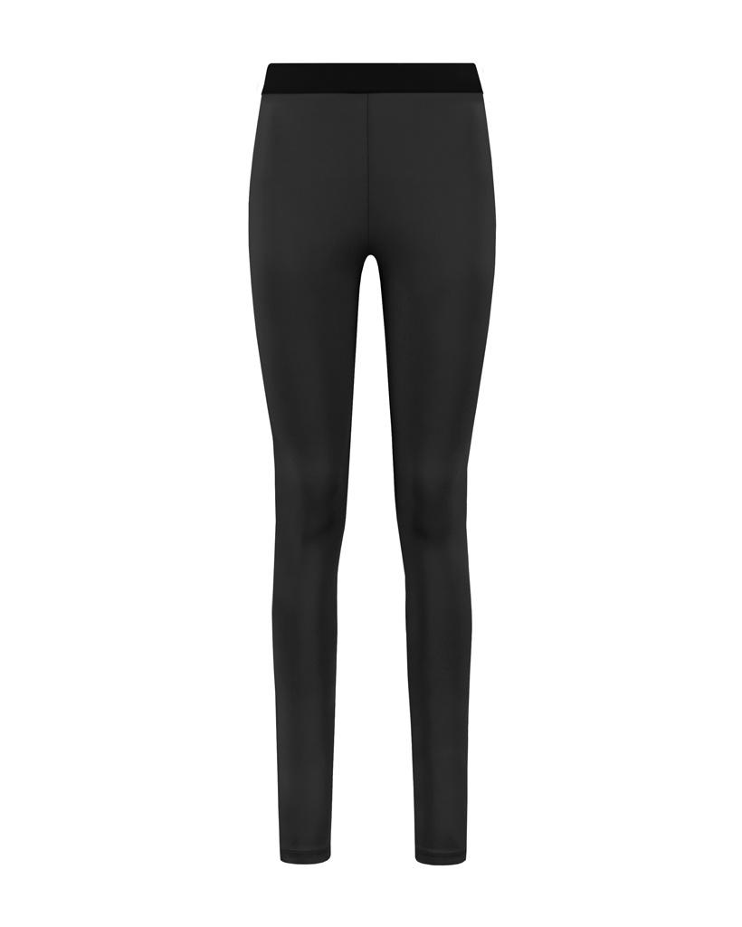 SYLVER Silky Jersey Legging - Black