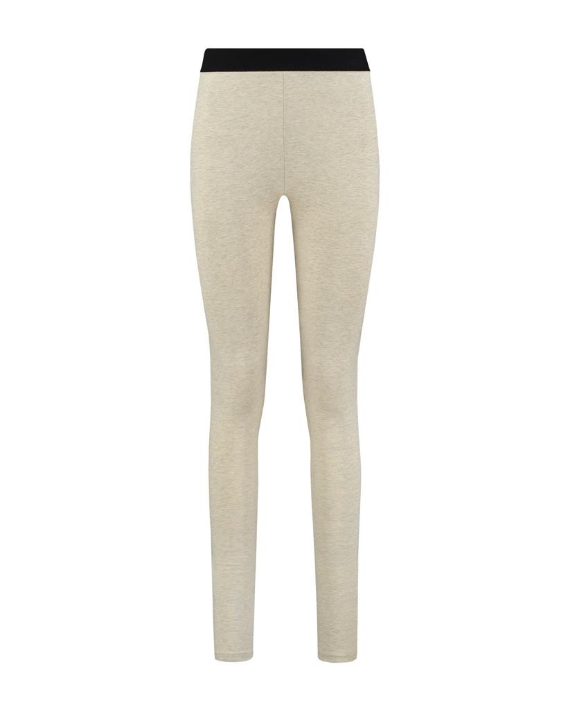 SYLVER Cotton Elastane Legging - Oatmeal