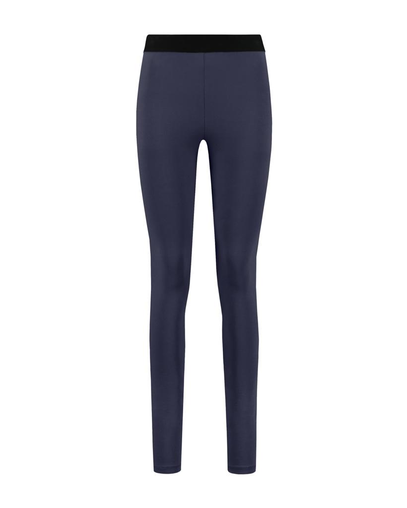 SYLVER Cotton Elastane Legging - Dark Blue