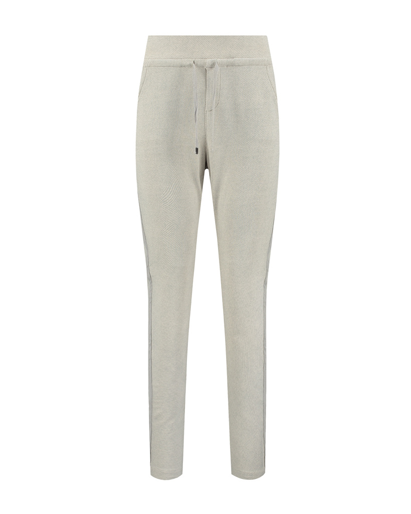 SYLVER Twill Sweat Trousers - Light Grey