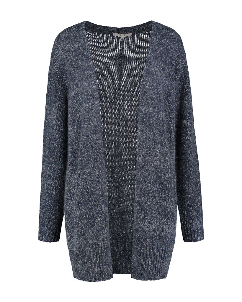 SYLVER Shine Cardigan - Dark Blue