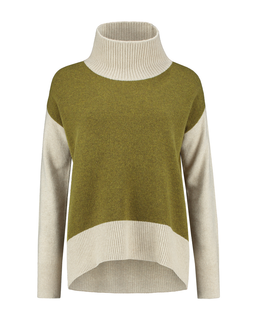 SYLVER Superb Pull Turtle-neck - Country